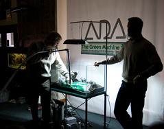 TGM ADA Demo - Adding water (Stu Worrall Photography) Tags: green ada tank stu machine demonstration meet planted aquascaping tgm stuworrall ukaps ukapsorg worralltgmthegreenmachineadademonstrationplantedta