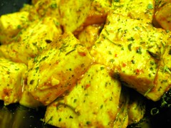 Runa cooked up a nice paneer dish