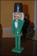 green nutcracker