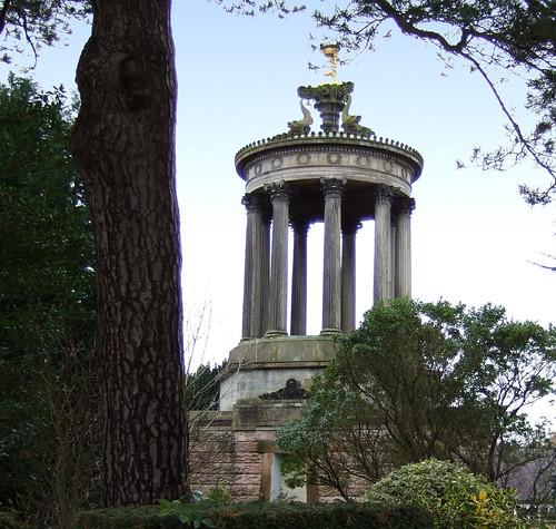 Burns monument at Alloway 18Dec08
