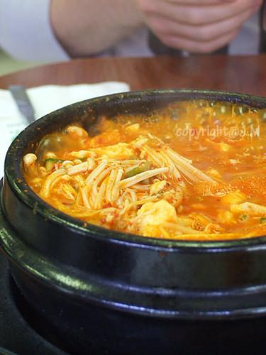Tofu Soup with Mushroom