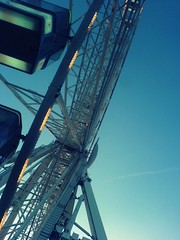 Ferris Wheel (Her life in pictures) Tags: christmas friends snow ice wheel laughing fun happy is cool holidays very skating over cardiff ferris indeed falling ferriswheel merry having everybodys anthems