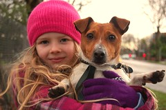 are new dog lucky (plot19) Tags: dog manchester kid nikon olivia lucky jackrussell trafford urmston flixton cooldog citrit goldstaraward girlpotrait familygetty2010