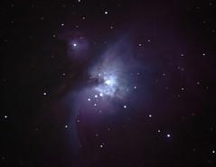 M42 Orion (vic_206) Tags: longexposure sc night stars noche telescope orion astrofotografia estrellas m42 celestron c6 astrophoto nebulosa foco nubula c6sgt
