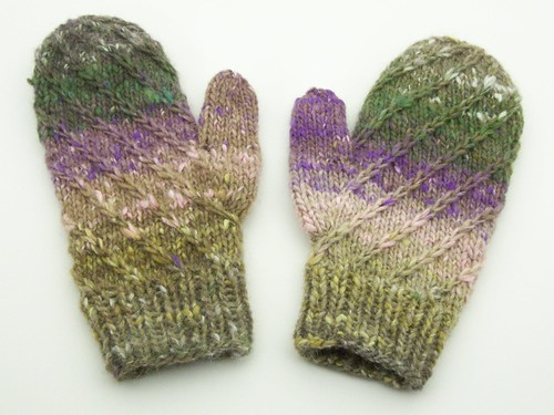 Picking Up Stitches In Knitting Mitten Thumb : Spiral Mitten Pattern He Knits n Spins