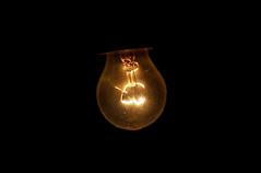 Filament d'une ampoule électrique