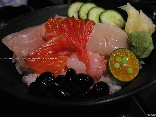 你拍攝的 海鮮丼。