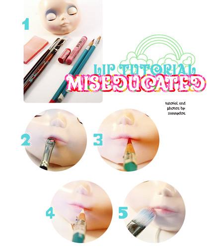 blythe lip tutorial