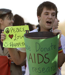 AIDS research fundraising
