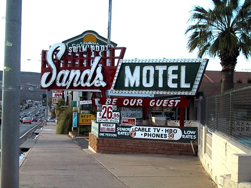 Retro Hotels: Sands Motel by LauraMoncur from Flickr