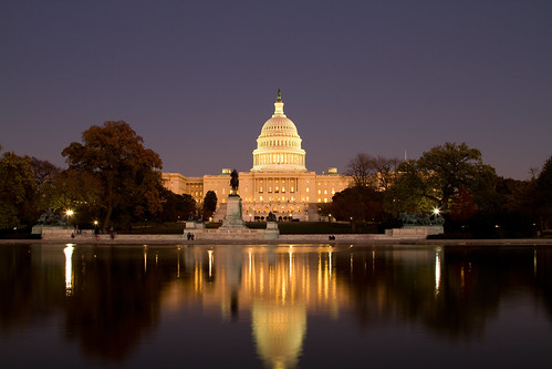 Capitol After Sunset