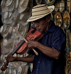 Fiddle Man (MysterP) Tags: nik panama musicman violins fiddles musicalinstruments 50mmf18 elvalledeanton streetmuscians mdpd2010