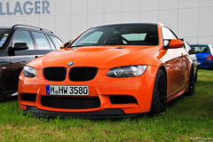 BMW M3 GTS (Michael | Photography) Tags: auto orange car racetrack canon germany deutschland photography eos mark awesome parking 4 may 15 s exotic f r e