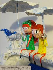 pajaro_de_agua_papel_mache_01h (Coriro) Tags: bridge girls sculpture bird art water paper puente design agua doll arte nios escultura nubes pajaro papel nias deco childs diseo mache umbrela mueca decoracion paragua cloudsartartechildsdecodecoraciondesigndiseodollesculturamachemuecaniospapelpapersculpturepuentebridgewateraguaumbrelaparaguagirlsniasbirdpajaronubes