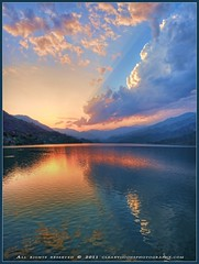 Last light (Clearvisions) Tags: sunset lake clouds reflections three gallery angels winners lastlight clearvision doublyniceshot mygearandmepremium mygearandmebronze mygearandmesilver mygearandmegold dblringexcellence tplringexcellence clearvisionsphotography clearvisions eltringexcellence