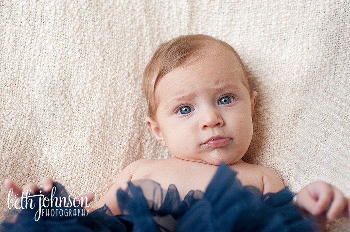 big blue eyes pettiskirt baby girl