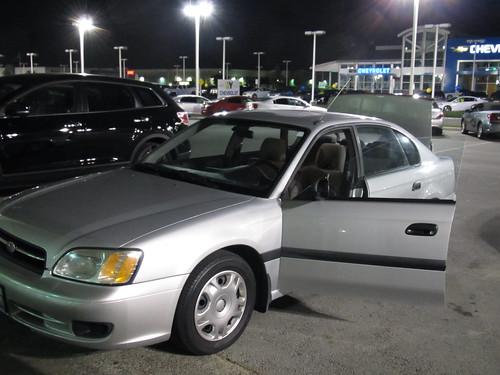 Goodbye Subaru...