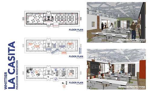 Part of the parent-created design for renovating La Casita.
