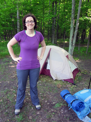 Manistee Backpacking trip - May 2011