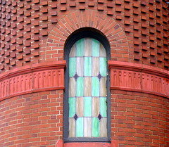 curved (VCH ) Tags: city urban church window newjersey nj landmarks hudson thumbsup bayonne hudsoncounty gamewinner challengewinner ourladyofmtcarmelchurch