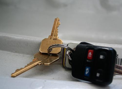 I Forgot to Mention the Keys