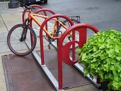 DDOT bicycle rack