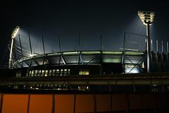 MCG Stadium (fynch) Tags: light red black night canon 350d stadium picture sigma australia melbourne spot victoria os 18200 mcg footie fynch