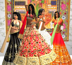 indian princesses (dancer Dallagio) Tags: indian avatar tajmahal secondlife henna mehndi zaara fashionemergency zadazenovka dancerdallagio ditatran dorriebellman sugarrdelight