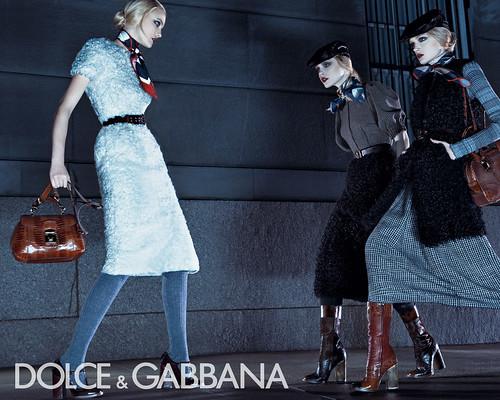 Dolce Gabbana осень-зима 2008-2009.  Обои для рабочего стола.