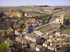 segovia (piersbarber) Tags: city houses church landscape spain view segovia