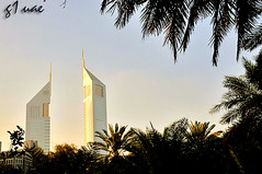 The Emirates Towers - DUBAI ( Maitha  Bint K) Tags: dubai towers uae emirates g1