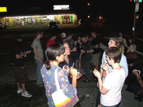 Outside Crowd