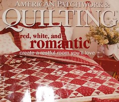 Red, White & Romantic - American P&Q cover