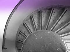 Ever descending spirals (indigo_girl) Tags: spiral glasgow stairwell staircase winding pirella