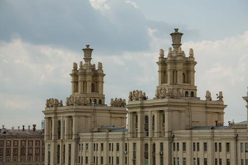 С московской крыши.