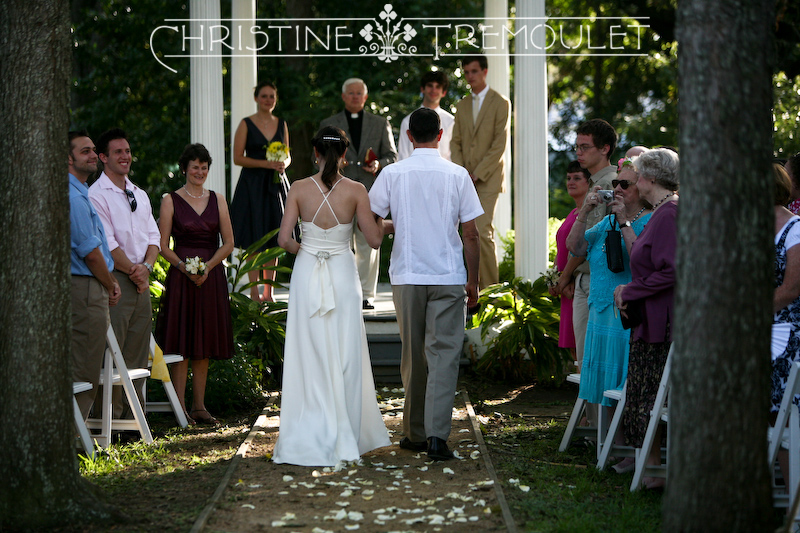 Maren & Her Father, Walking Down the Aisle