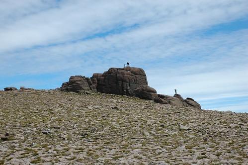 Summit Torr Beinn Mheadhoin