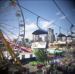 everything (The 10 cent designer) Tags: film holga midway calgarystampede
