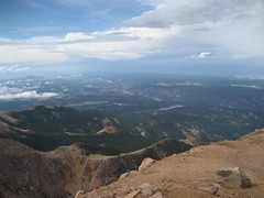 Just one of the amazing views from the Pikes Peak summit. (07/06/2008)