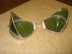glasses antique safety eyewear steampunk