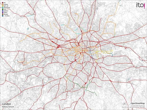 London - Railway Network