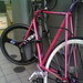Fixie in Omotesando with HED wheel