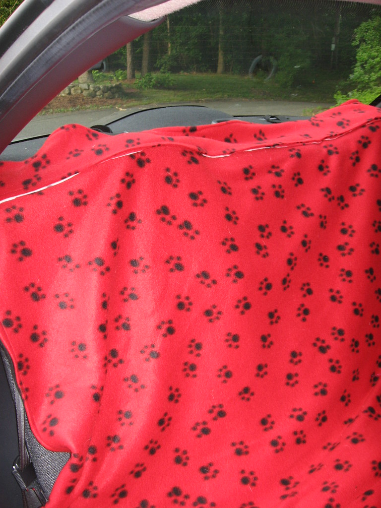 back seat pet cover