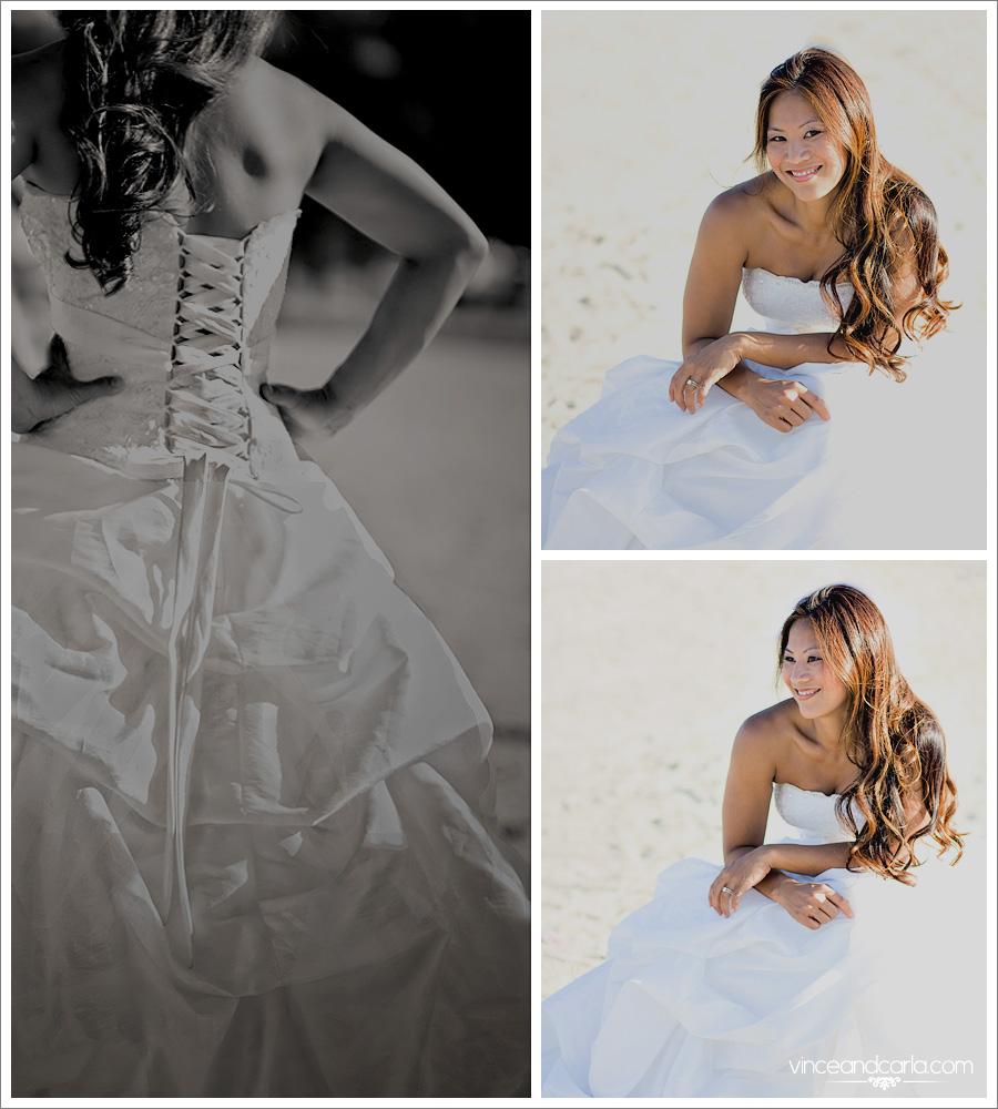 ttd blog sher trash the dress santa fe dam los angeles beach wedding