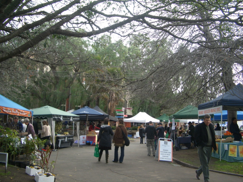 Slow Food Market at Abbottsford Convent