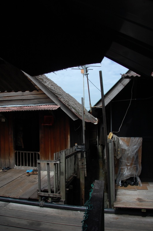 hut in chew jetty