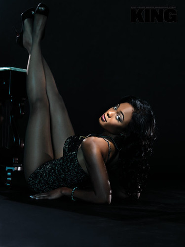 Tatyana Ali king magazine pictures