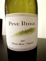 2007 Pine Ridge Chenin Blanc - Viognier
