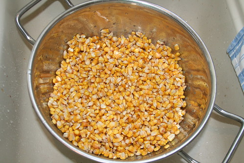 Homemade corn tortillas part one how to soak corn for masa field corn ccuart Choice Image