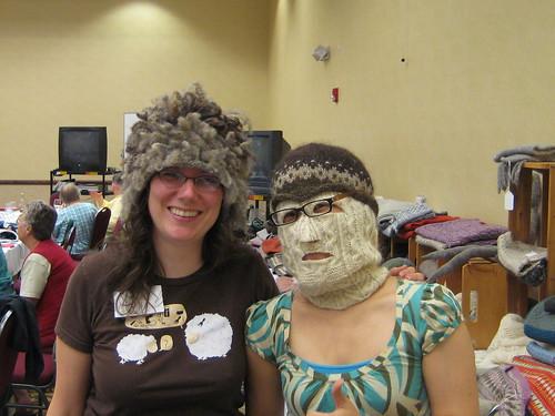 Kristi and Masked Woman